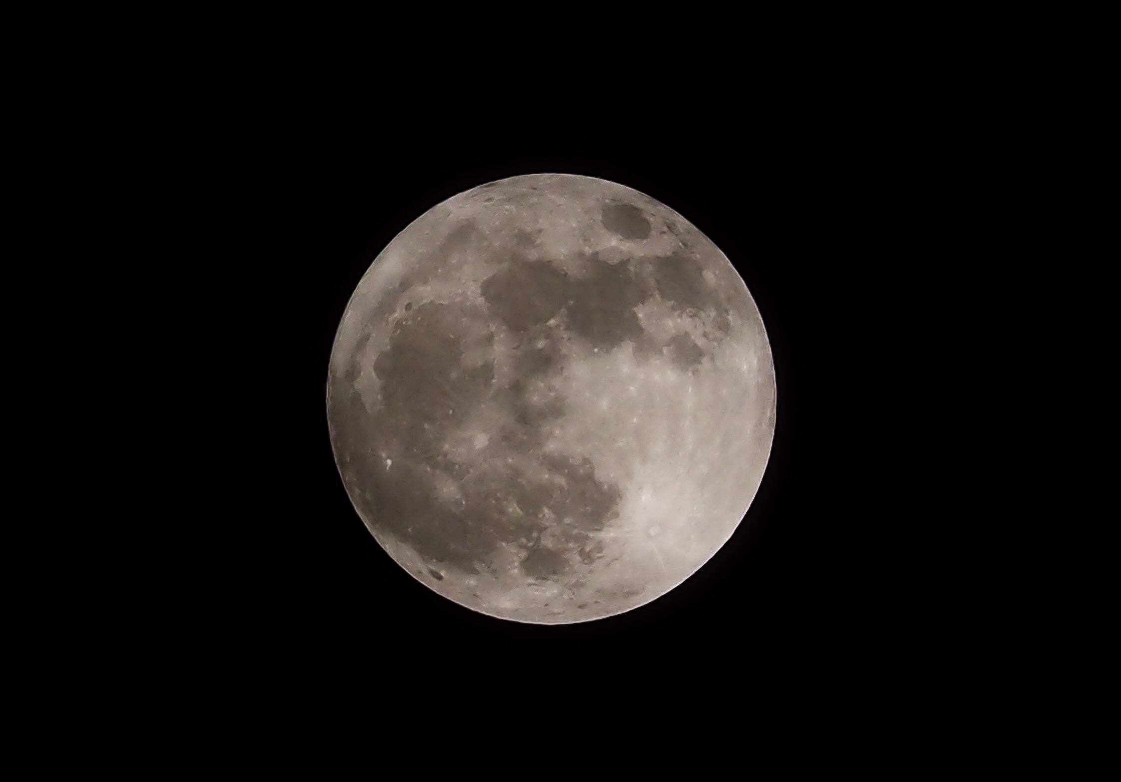 포천의 보름달