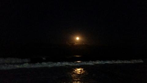 보름달 인증샷